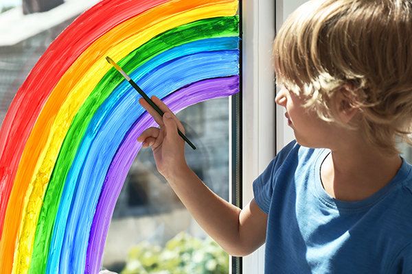 learn how can you clean the paint on the glass
